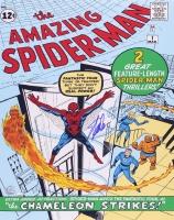 "Stan Lee Signed ""The Amazing Spider-Man"" 16x20 Photo (Lee Hologram & FSC COA)"