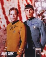 William Shatner & Leonard Nimoy Signed Star Trek 16x20 Photo (JSA COA)