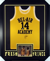 "Will Smith Signed Fresh Prince 35"" x 43"" Custom Framed Bel-Air Academy Jersey (PSA)"