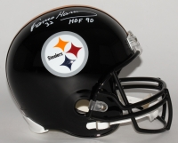 "Franco Harris Signed Steelers Full-Size Helmet Inscribed ""HOF 90"" (JSA COA)"