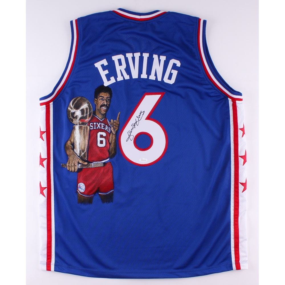 416d446d5 Erving was inducted Online Sports Memorabilia Auction Pristine Auction 196  best JULIUS ERVING Erving with the 76ers ...