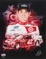 Kyle Larson Signed NASCAR Limited Edition 11x14 Photo #/42 (PA COA)