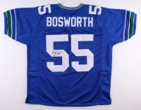 Brian Bosworth Signed Seahawks Jersey (JSA COA)
