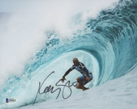 Kelly Slater Signed Surfing 8x10 Photo (Beckett COA)