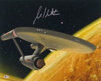 William Shatner Signed Star Trek 16x20 Photo (Beckett COA)