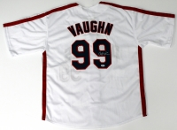 "Charlie Sheen Signed Major League ""Wild Thing"" Jersey (PSA)"