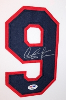 "Charlie Sheen Signed Major League ""Wild Thing"" 35"" x 43"" Custom Framed Jersey (PSA) at PristineAuction.com"
