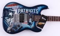 Tom Brady Signed LE Patriots Electric Guitar (Steiner COA) at PristineAuction.com