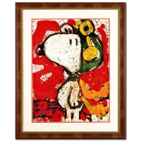 "Tom Everhart Signed ""To Remember"" Limited Edition 24x36 Custom Framed Hand Pulled Original Lithograph #48/750"