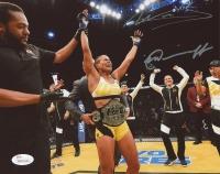 Amanda Nunes & Nina Ansaroff Signed UFC 8x10 Photo (JSA COA)