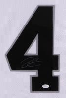 "Derek Carr Signed Raiders 35"" x 43"" Custom Framed Jersey (JSA COA) at PristineAuction.com"