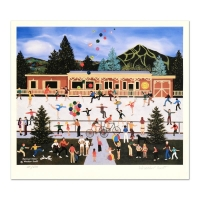"""Jane Wooster Scott Signed """"Summer Cheer"""" Limited Edition 13x15 Lithograph at PristineAuction.com"""