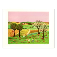 """Colagone Signed """"Noles D'Aton"""" Limited Edition 21x29 Lithograph"""