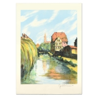 "Laurant Signed ""Village Breton"" Limited Edition 21x29 Lithograph at PristineAuction.com"