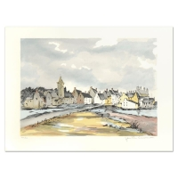 "Laurant Signed ""Honfleur"" Limited Edition 21x29 Lithograph"