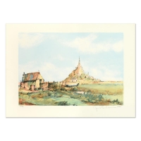 """Laurant Signed """"San Michel"""" Limited Edition 21x29 Lithograph at PristineAuction.com"""