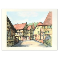 "Laurant Signed ""Village Kaisbeberg"" Limited Edition 21x29 Lithograph at PristineAuction.com"