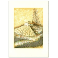"""Pierre Mas Signed """"Farm"""" Limited Edition 21x30 Lithograph at PristineAuction.com"""