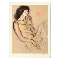 """Pecard Signed """"Reflections"""" Limited Edition 22x30 Lithograph at PristineAuction.com"""