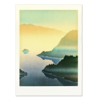 "Rand Signed ""Lake"" Limited Edition 21x30 Lithograph at PristineAuction.com"