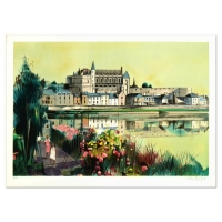 """Robert Vernet Bonfort Signed """"The River"""" Limited Edition 21x29 Lithograph at PristineAuction.com"""