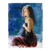 "Vidan Signed ""All Alone"" Limited Edition 20x26 Giclee on Canvas"