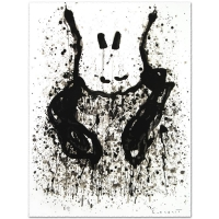 "Tom Everhart Signed ""Watchdog 6 O'Clock"" Limited Edition 22x30 Hand Pulled Original Lithograph at PristineAuction.com"