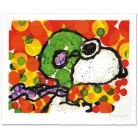 "Tom Everhart Signed ""Synchronize My Boogie-Afternoon"" Limited Edition 27x34 Hand Pulled Original Lithograph at PristineAuction.com"