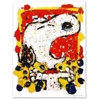 "Tom Everhart Signed ""Squeeze the Day-Friday"" Limited Edition 28x35 Hand Pulled Original Lithograph at PristineAuction.com"