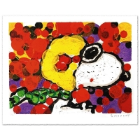 "Tom Everhart Signed ""Synchronize My Boogie-Morning"" Limited Edition 27x34 Hand Pulled Original Lithograph at PristineAuction.com"
