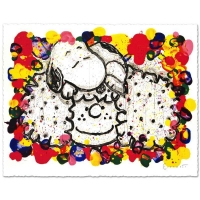 """Tom Everhart Signed """"Why I Like Big Hair"""" Limited Edition 27x37 Hand Pulled Original Lithograph"""
