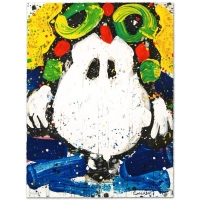 "Tom Everhart Signed ""Ace Face"" Limited Edition 22x30 Hand Pulled Original Lithograph at PristineAuction.com"