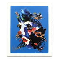"""Martiros Manoukian Signed """"Always Together"""" Limited Edition 28x34 Serigraph"""