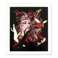 """Martiros Manoukian Signed """"Sophisticated Glance"""" Limited Edition 28x32 Serigraph at PristineAuction.com"""