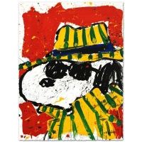 "Tom Everhart Signed ""It's the Hat That Makes the Dude"" Limited Edition 22x30 Hand Pulled Original Lithograph at PristineAuction.com"