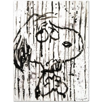 "Tom Everhart Signed ""Dancing In The Rain"" Limited Edition 22x30 Hand Pulled Original Lithograph at PristineAuction.com"