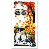 "Tom Everhart Signed ""Beauty Sleep"" Limited Edition 25x57 Hand Pulled Original Lithograph"