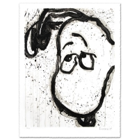 "Tom Everhart Signed ""I Can't Believe my Ears, Darling"" Limited Edition 29x38 Hand Pulled Original Lithograph at PristineAuction.com"