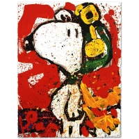"Tom Everhart Signed ""To Remember"" Limited Edition 22x30 Hand Pulled Original Lithograph"
