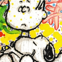"""Tom Everhart Signed """"Super Sneaky"""" Limited Edition 26x35 Hand Pulled Original Lithograph at PristineAuction.com"""