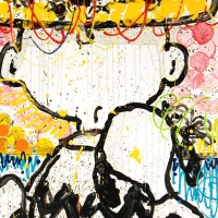 "Tom Everhart Signed ""Mon Ami"" Limited Edition 25x36 Hand Pulled Original Lithograph at PristineAuction.com"