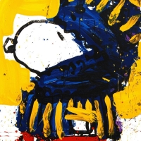"Tom Everhart Signed ""March Vogue"" Limited Edition 22x30 Hand Pulled Original Lithograph at PristineAuction.com"