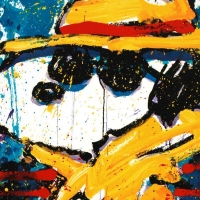 """Tom Everhart Signed """"Undercover in Beverly Hills"""" Limited Edition 22x30 Hand Pulled Original Lithograph at PristineAuction.com"""