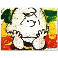 "Tom Everhart Signed ""Call Waiting"" Limited Edition 22x30 Hand Pulled Original Lithograph at PristineAuction.com"