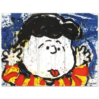 "Tom Everhart Signed ""No Apologies"" Limited Edition 22x30 Hand Pulled Original Lithograph"