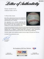 Thurman Munson Signed Vintage Baseball (PSA LOA) at PristineAuction.com