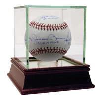 New York Yankees Dynasty MLB Baseball Team-Signed by (4) with Scott Brosius, John Wetteland, Mariano Rivera & Derek Jeter (Steiner COA)