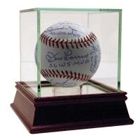 New York Yankees World Series MVP Multi-Signed & Inscribed MLB Baseball With Whitey Ford, Reggie Jackson, Mariano Rivera, Hideki Matsui, Derek Jeter, (Steiner COA)