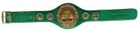 Floyd Mayweather Jr. Signed Full-Size WBC Championship Belt (Beckett COA)