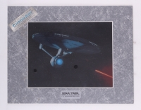 "Star Trek ""USS Enterprise NCC-1701-A"" 1994 Limited Edition Chromium Print (Paramount COA)"